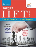 TARGET IIFT 2016 (Past Papers 2005 - 2015) + 5 Mock Tests 8th Edition(English, Paperback, Disha Experts)