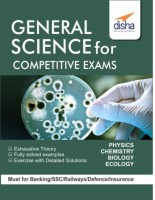 General Science for Competitive Exams - SSC/ Banking/ Railways/ Defense/ Insurance(English, Paperback, Disha Experts)