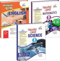Olympiad Champs Science, Mathematics, English Class 8 with 15 Mock Online Olympiad Tests (Set of 3 Books)(English, Paperback, Disha Experts)