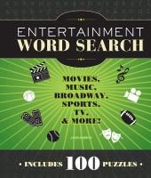 Entertainment Word Search: Movies, Music, Broadway, Sports, TV & More(English, Paperback, John M. Samson)