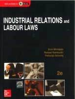 Industrial Relations and Labour Laws 2nd Edition 2nd Edition(English, Paperback, Monappa)