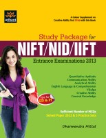 Study Package for NIFT, NID & IIFT Entrance Exam 2012(English, Paperback, Dharmendra Mittal)