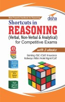 Shortcuts in Reasoning (Verbal, Non-Verbal & Analytical) for Competitive Exams with 3 Ebooks(English, Paperback, Disha Experts)