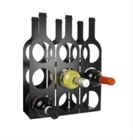 Infra Engineering Steel Wine Rack(Black, White, Red, Blue, Grey, 9 Bottles)