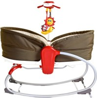 Tiny Love 3-In-1 Rocker Napper~Brown Electric Bouncer(Brown)