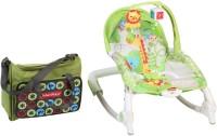Fisher-Price Newborn to Toddler Portable Rocker(Green)
