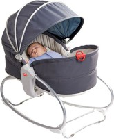 Tiny Love 3-In-1 Cozy Rocker Napper Electric Bouncer(Grey)