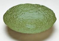 Foyer Glass Bowl(Green, Pack of 1)
