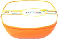 Nayasa Plastic Bowl Set(Orange, Pack of 2)