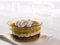 Borosil Souffle Dish Glass Vegetable Bowl(White, Pack of 1)