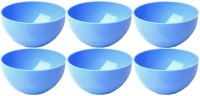 Microgen Polypropylene Bowl Set(Blue, Pack of 6)