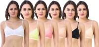 SK Dreams by SK Dreams Women's Full Coverage Non Padded Bra(Multicolor)