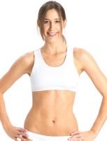 Jockey Women's Sports Non Padded Bra(White)