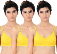 S4S Womens Full Coverage Yellow Bra