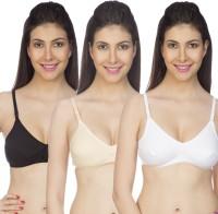 Johnson Women's Minimizer Non Padded Bra(Multicolor)