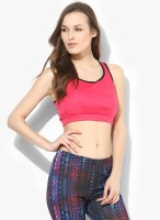 Ajile by Pantaloons Women's Sports Bra(Pink)