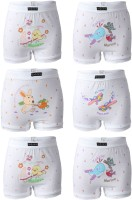 Body Care Brief For Boys(White Pack of 6)