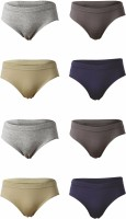 Body Care Brief For Boys(Multicolor Pack of 8)