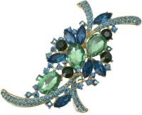 Taj Pearl Designer Brooch(Gold)