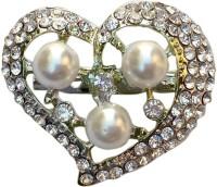 FURE Shining Heart Brooch(White)