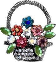 FURE Flower Basket Brooch(Multicolor)