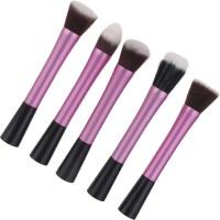 Magideal 5 Piece Foundation Powder Kabuki Brushes Set(Pack of 5)