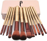 Foolzy Set of Professional Makeup Brushes Kit(Pack of 12)
