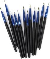 Magideal Eyeliner Lip Brushes(Pack of 12)