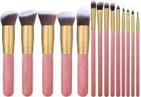 Shrih Foundation Blending Blush Eyeliner Face Powder Brush Makeup Kit(Pack of 14)