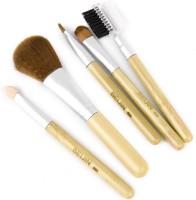 Magideal Natural Bamboo Handle Facial Brush(Pack of 5)