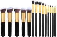 Shrih Foundations Concealers Eye Shadows 14 Pcs Makeup Brush Set(Pack of 14)