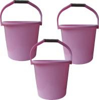 Milton New 20 L Plastic Bucket(Pink)