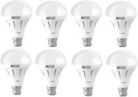 Oreva 12 W Standard B22 LED Bulb(White, Pack of 8)
