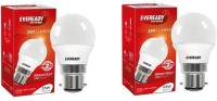 Eveready 2.5 W B22 LED Bulb(White, Pack of 2)