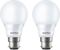 Wipro 7 W Standard B22 LED Bulb(White, Pack of 2)