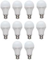 Tijaria 12 W Standard 2 Pin LED Bulb(White, Pack of 10)