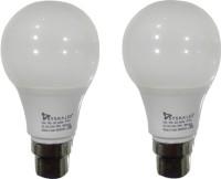 Syska Led Lights 5 W Standard B22 LED Bulb(White, Pack of 2)