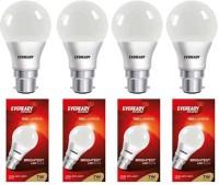 Eveready 14 W Standard B22 LED Bulb(White, Pack of 4)
