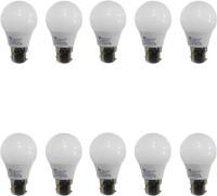 Syska Led Lights 3 W Standard B22 D LED Bulb(White, Pack of 10)