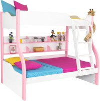 View Alex Daisy Cloumbia Engineered Wood Bunk Bed(Finish Color - Pink & White) Furniture (Alex Daisy)