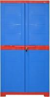 View Cello Storage Cupboard Plastic Cupboard(Finish Color - Red & Blue) Furniture (Cello)