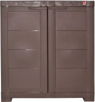 View Cello Storage Cupboard Plastic Cupboard(Finish Color - Pearl Brown) Furniture (Cello)