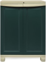Nilkamal Freedom Small 1 (FS1) Plastic Free Standing Chest of Drawers(Finish Color - Olive Green & Pista Green)