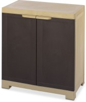 View Nilkamal Freedom Plastic Free Standing Cabinet(Finish Color - Weather Brown) Price Online(Nilkamal)