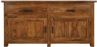 View The Attic Solid Wood Free Standing Sideboard(Finish Color - Multicolor) Price Online(The Attic)