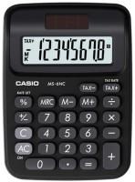 CASIO MS-6NC-BK Basic  Calculator(8 Digit)