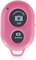 KG Collection Bluetooth Shutter  Camera Remote Control(Pink, Grey)