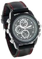 spydo Secrete Security Based (sc) Black Leather Spy Watch Camcorder(Black)