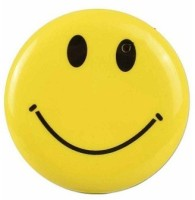 Autosity Secrete Detective Yellow Metal Smiley Hidden Camera Camcorder(Yellow)