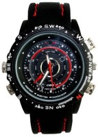 Autosity Detective Survilliance F01D Watch Spy Camera Product Camcorder(Black)
